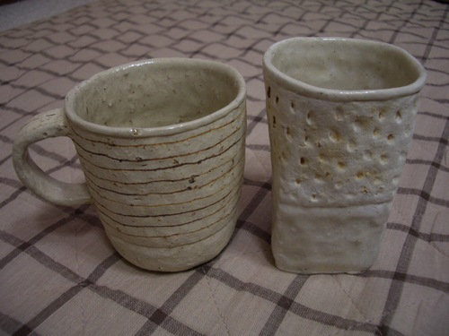 内田京子さんのカップ。